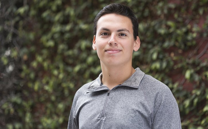 Raymundo Gonzales-Leal Freshman Portrait